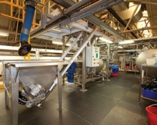 "Mechanical and Pneumatic Conveyors Both Prove Best for New ""Chocolate Dodger"" Process at Burton"