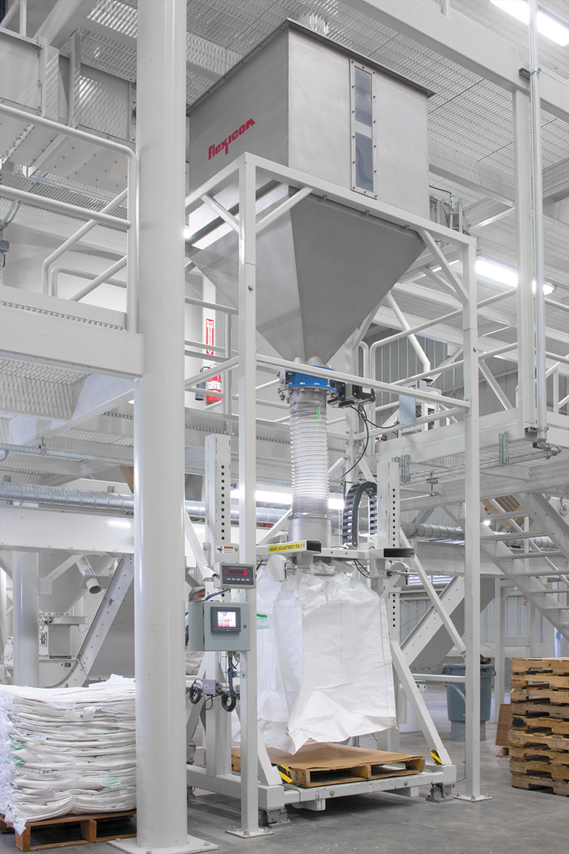 1824109fda Bulk Bag Filler Speeds Packaging at Kennedy Rice Mill