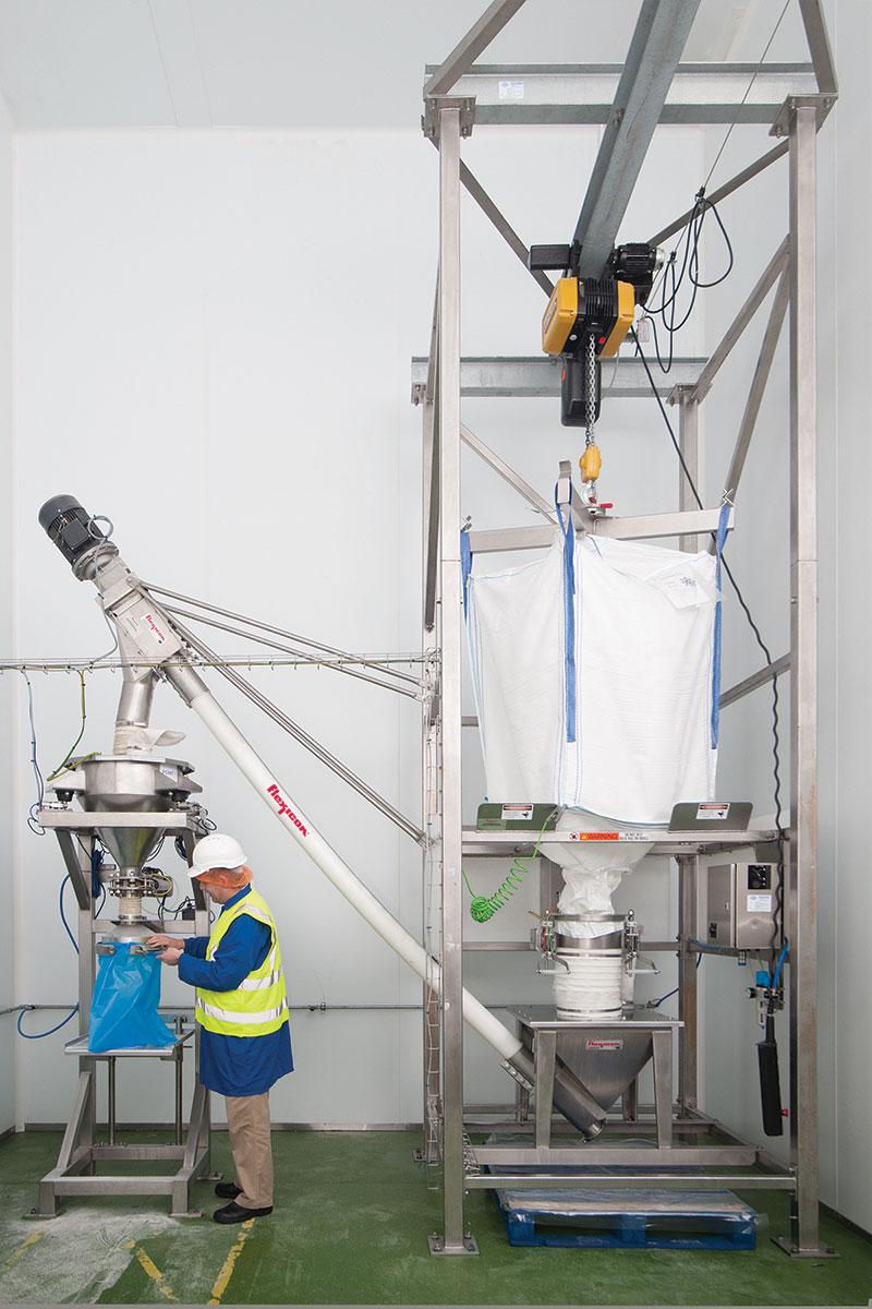 6x Powdered Sugar - Materials Handled - Flexicon Corporation