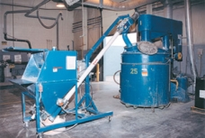 Mobile Flexible Conveyor Cuts Dispersion Time by 30% at Paint Manufacturer