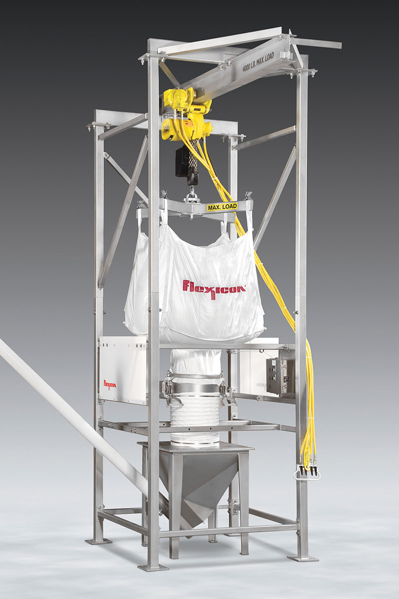 Bulk Bag Discharger For Explosive Environments News Releases