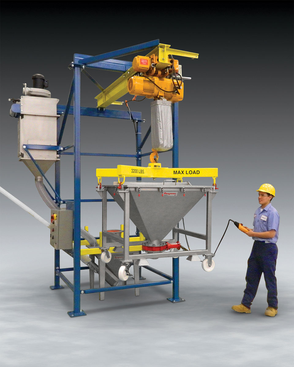 Ibc Discharger For Low Headroom Areas News Releases