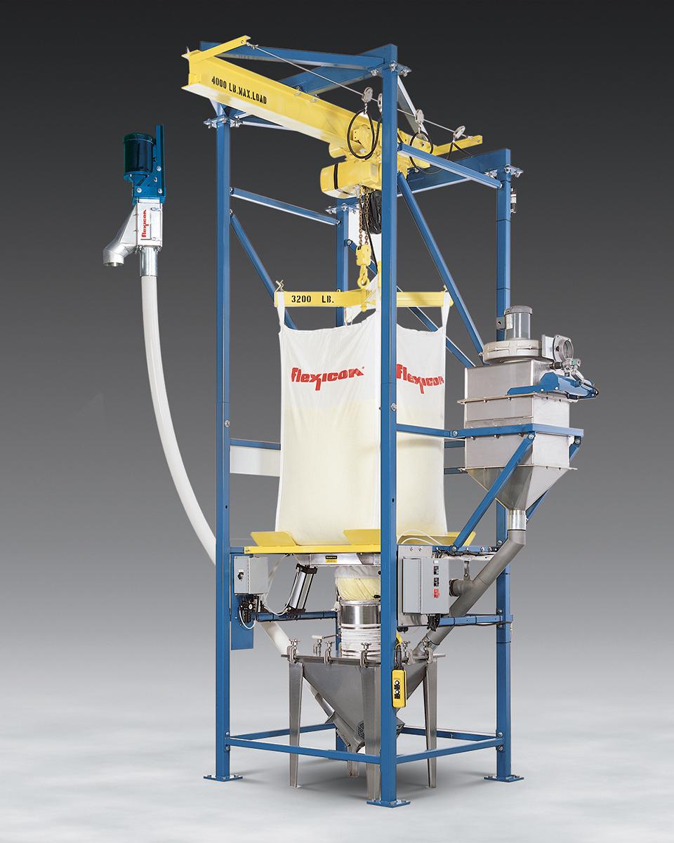 Dust Free Automated Bulk Bag Unloader