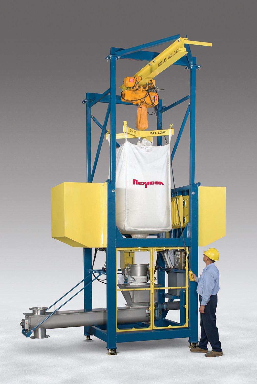 Bulk Bag Conditioner Unloader System For Mining Applications
