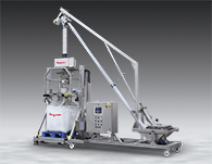 Mobile Bulk Bag Filling System Has Metal Detection, Tilt-Down Feeder