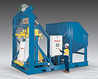 Ultra-Heavy-Duty Bulk Bag Filling Systems for Mining Applications