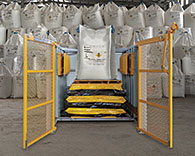 Bulk Bag Conditioner Purpose-Built for Mining Applications