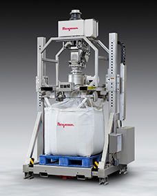 Sanitary Bulk Bag Filler has Metal Detection