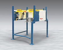 Low-Profile Bulk Bag Discharger Fits Existing Layouts