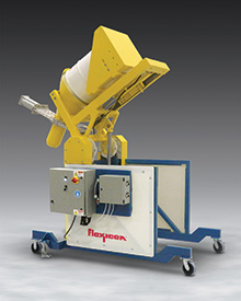 Dust-Tight Mobile Drum Dumper