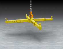 Bulk Bag Lifting Frame with Adjustable Arms