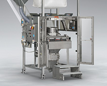 Sanitary Bulk Bag Weigh Batch Unloader