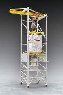Bulk-Bag-Weigh-Batch-Unloader-with-Seismic-Bracing