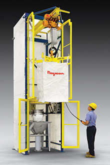 Enclosed Bulk Bag Discharger