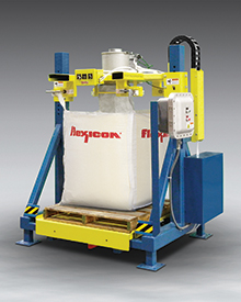 Low Profile Bulk Bag Filler with Explosion Proof ControlsLow Profile Bulk Bag Filler with Explosion Proof Controls