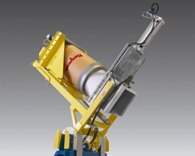Dust-Tight Drum Dumper for Difficult MaterialsDust-Tight Drum Dumper for Difficult Materials