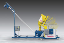 Mobile-Dumper-Conveyor-System-Performs-Multiple-TasksMobile Dumper-Conveyor System Performs Multiple Tasks
