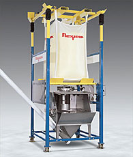 Combination Bulk Bag Unloader And Manual Dumping Station