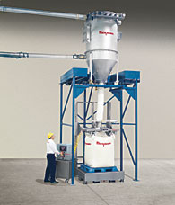 Bulk Bag Filling with Pneumatic Feeding