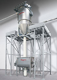 Pneumatic Weigh Batching/Blending System for Free-Flowing Bulk Materials