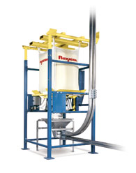 BFF Series Bulk Bag Unloader for Pneumatic Conveyors