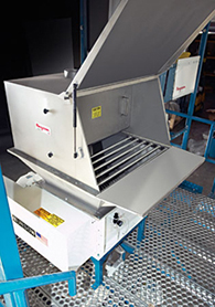 Manual Dump to Rigid Bin Weigh Batching System