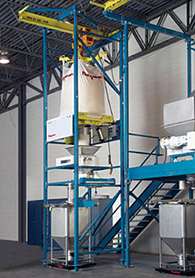 Bulk-Bag-To-Bin Weigh Batching System