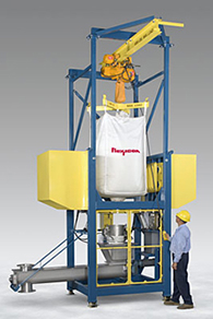 Mining and Construction Bulk Bag Unloaders with Integral Conditioners