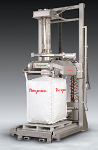Sanitary-Bulk-Bag-Filler-Brings-Fill-Head-to-Operator