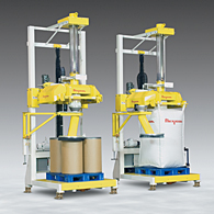 Pivot-Head Filler Accommodates Bulk Bags, Drums