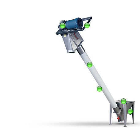 Flexible Screw Conveyors Move Virtually Any Bulk