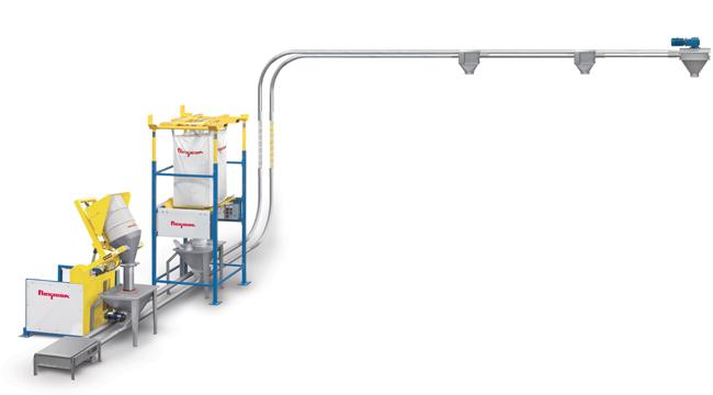 Tubular Cable Drag Disc Conveyors Flexicon Corporation
