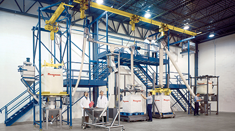 Test laboratory for Flexible Screw Conveying Systems and upstream/downstream bulk handling equipment.